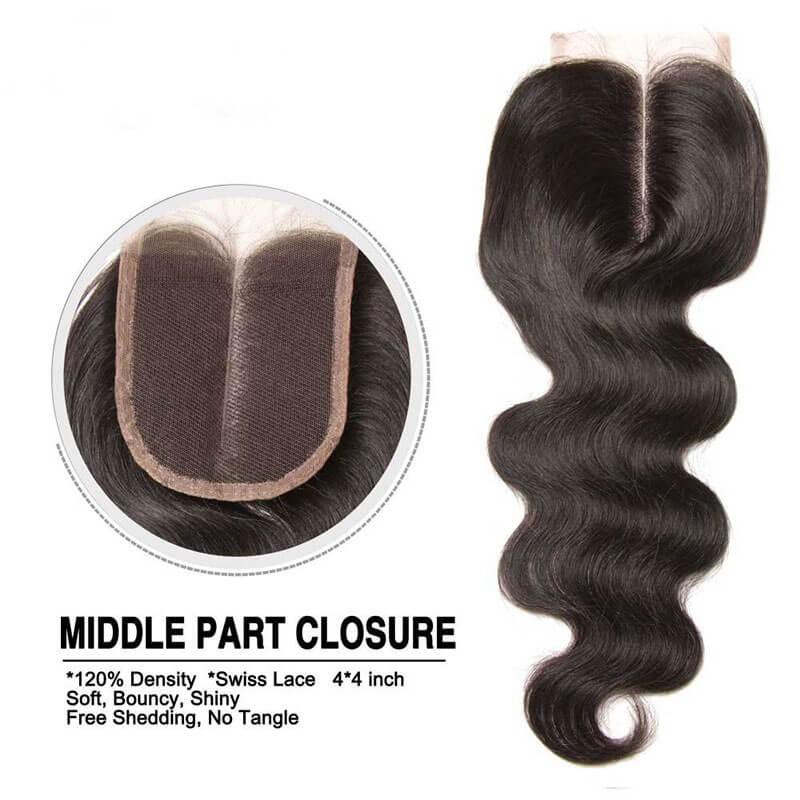 hair bundles with closure