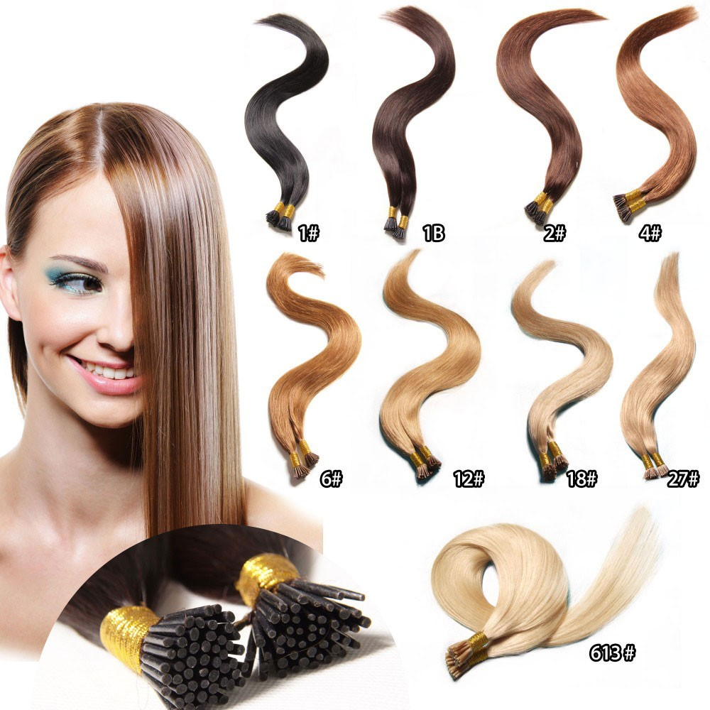 Nadula Cheap Remy I Tip Human Hair Extensions Wholesale Full Head