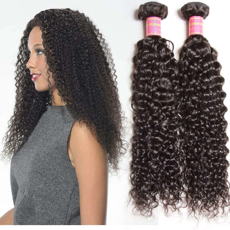 Nadula Cheap Brazilian Curly Virgin Hair Weave 1 Bundle Full Human