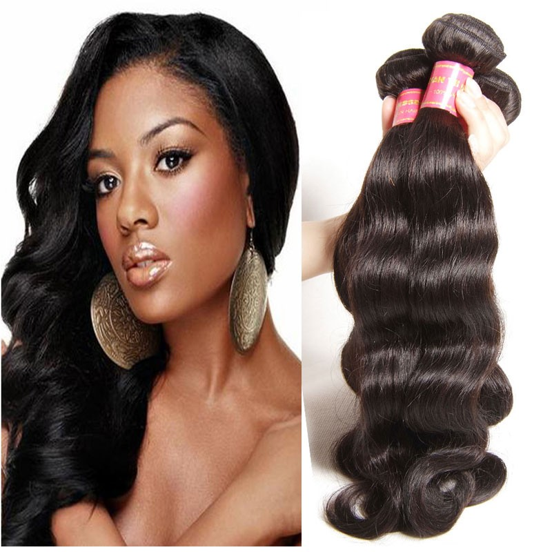 Nadula Real Indian Virgin Hair Weave Bundles 4 Pcs Soft Indian Body