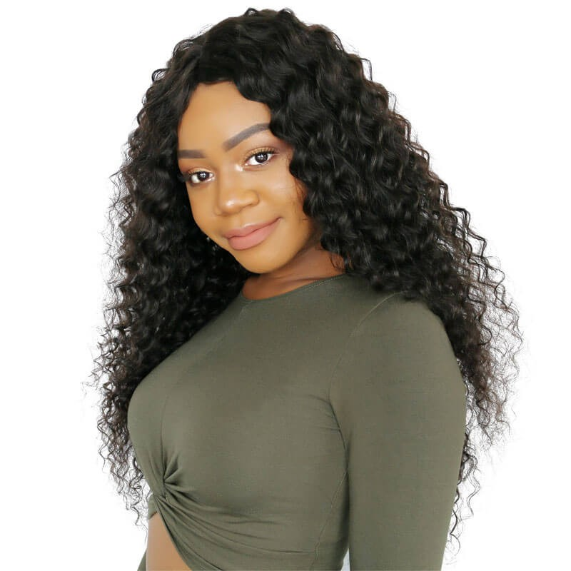 Nadula Unprocessed Brazilian Virgin Hair Deep Wave 3 Bundles Soft