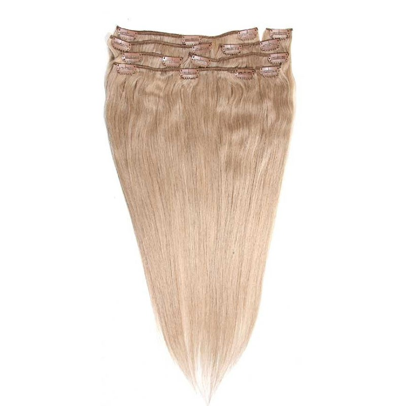 Nadula Brazilian Remy Human Hair Clip In Wholesale Natural