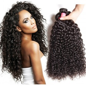 Nadula Unprocessed Virgin Indian Curly Hair Weave 3 Bundles Real Indian Remy Human Hair Deals
