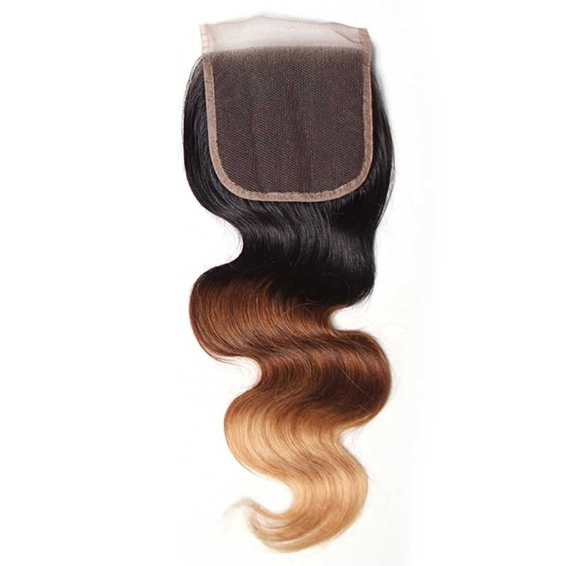 ombre hair closure
