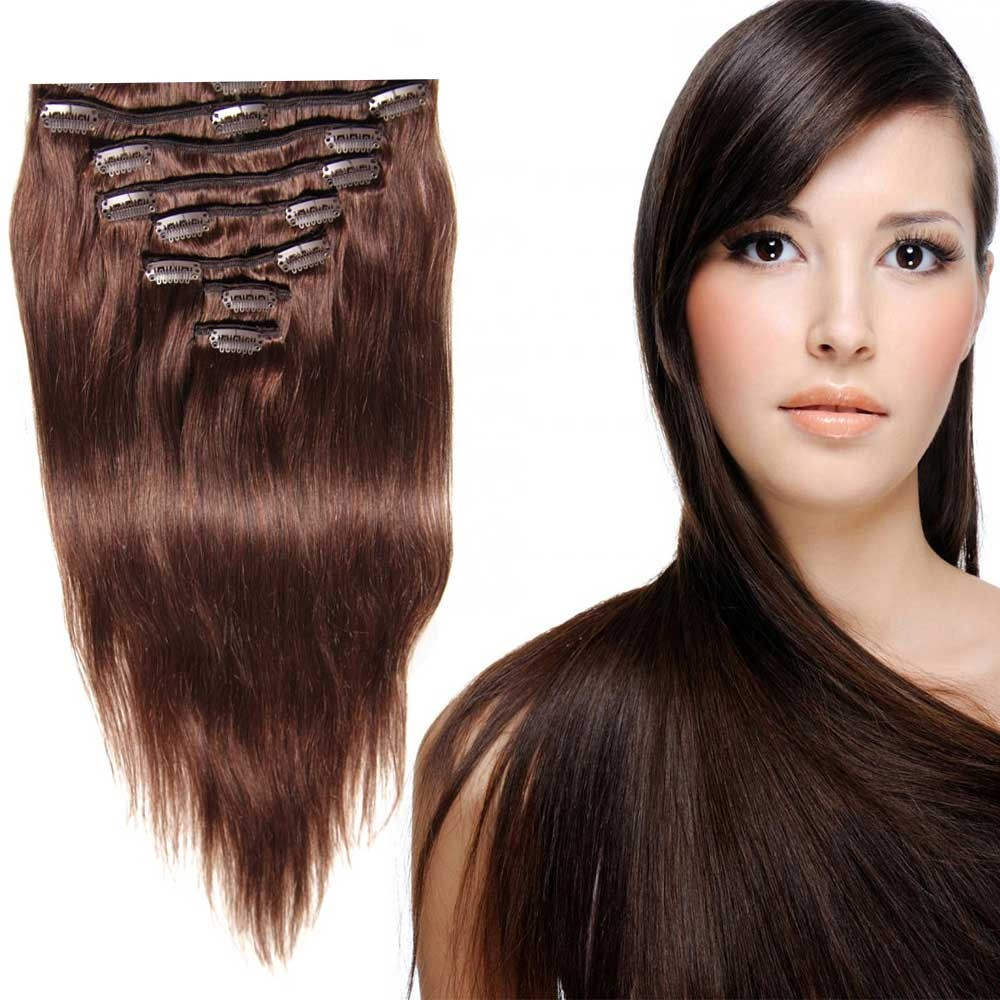 top clip in hair extensions