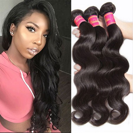 Nadula Wholesale Best Virgin Brazilian Body Wave Hair 3 Bundles Cheap Brazilian Virgin Human Hair Weave
