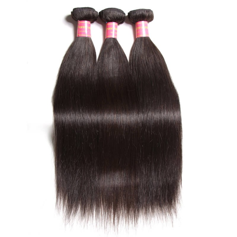 real straight brazilian hair full bundles