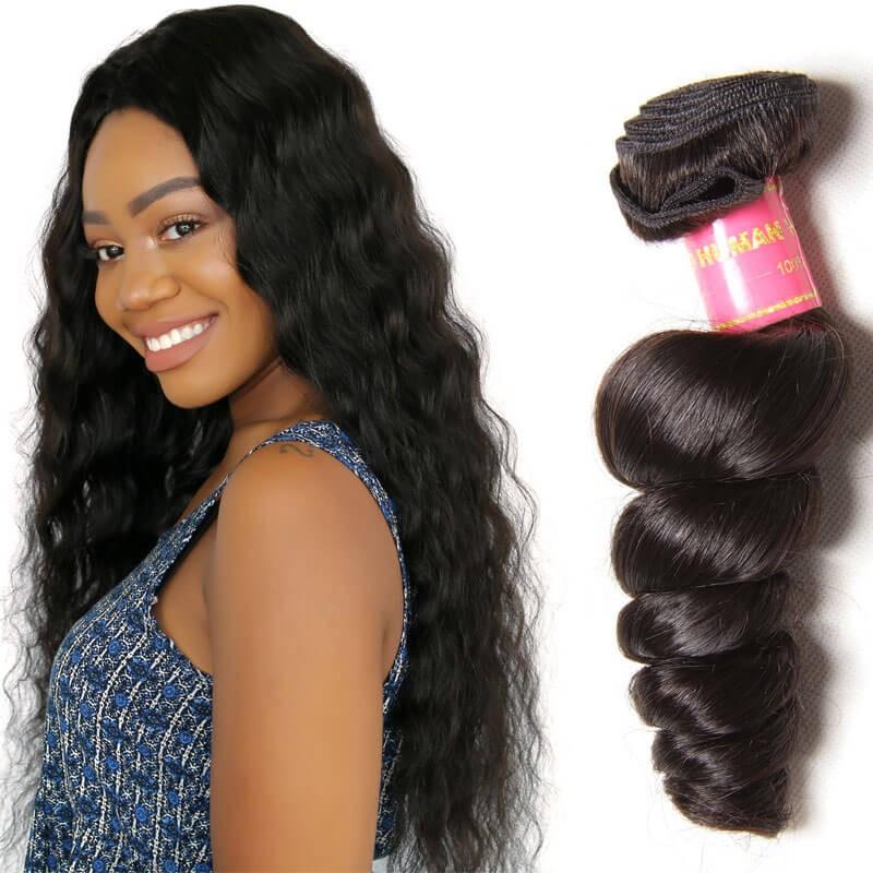 Unprocessed Virgin Hair One Bundle Deals 100 Human Hair Extensions