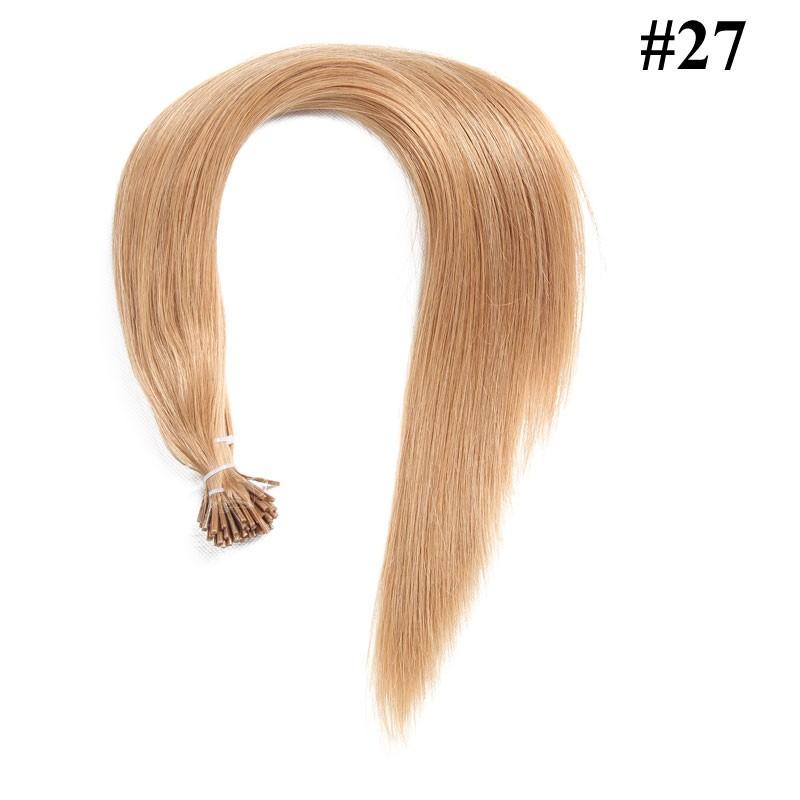 Nadula 18in 20in 22in 24in Pre Bonded I Tip Keratin Fusion Hair