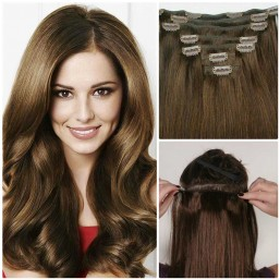 cheap hair extensions clip in
