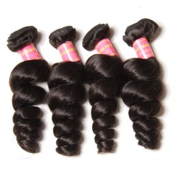 real indian remy loose wave hair