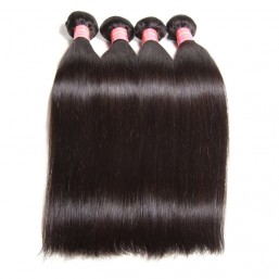 straight indian hair weave