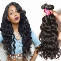 peruvian natural wave hair 3 bundles