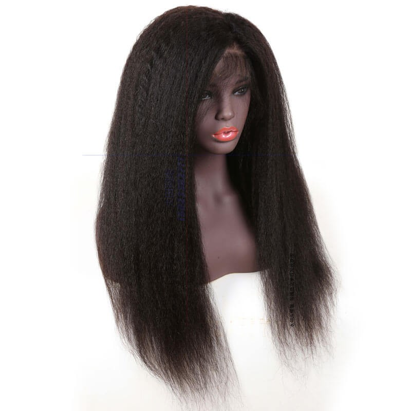 Lace Frontal Kinky Straight  wigs