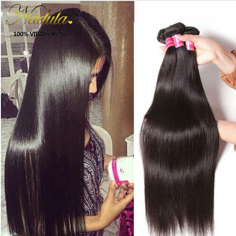 straight brazilian hair beautiful wave and style