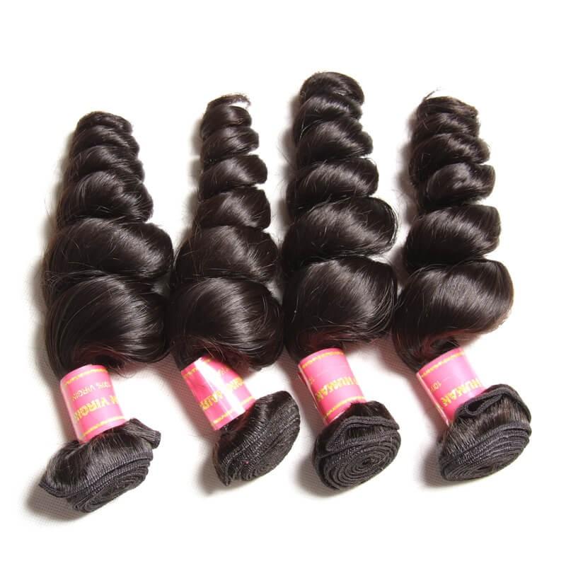 brazilian loose wavy hair bundles
