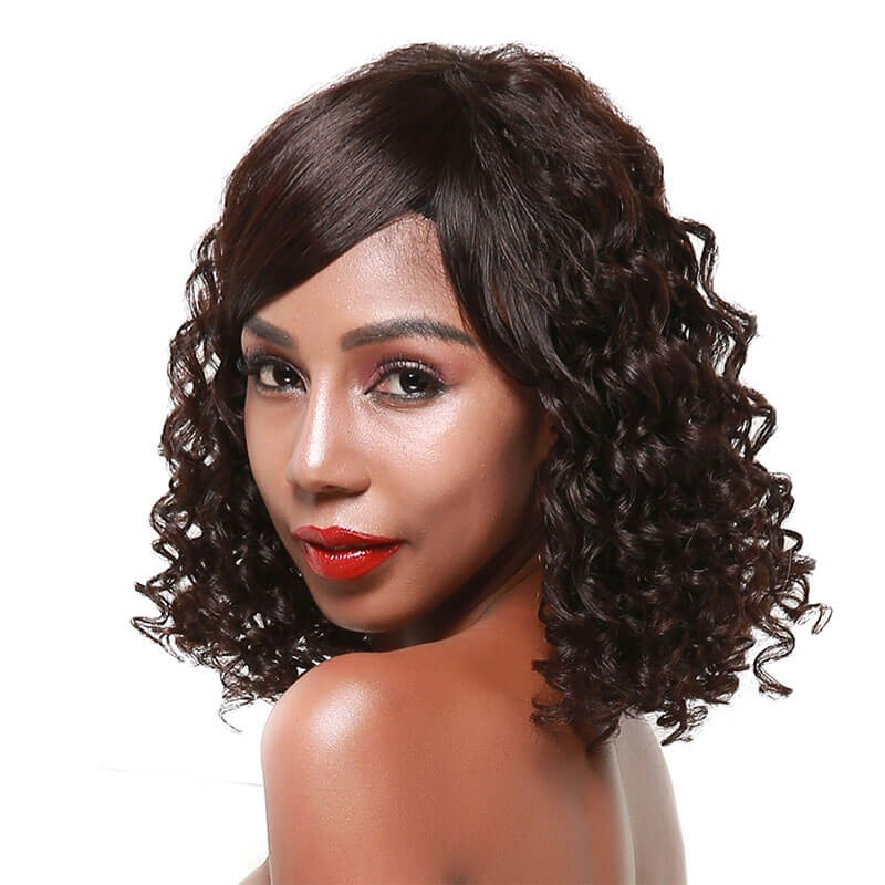 curly wigs human hair