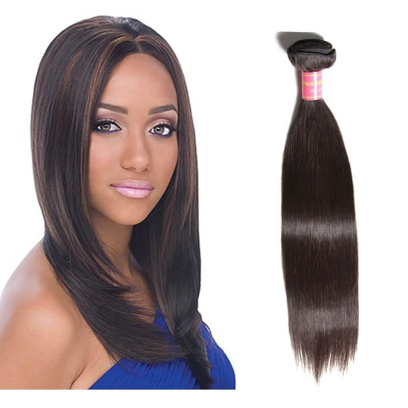 straight virgin brazilian hair 1 bundles