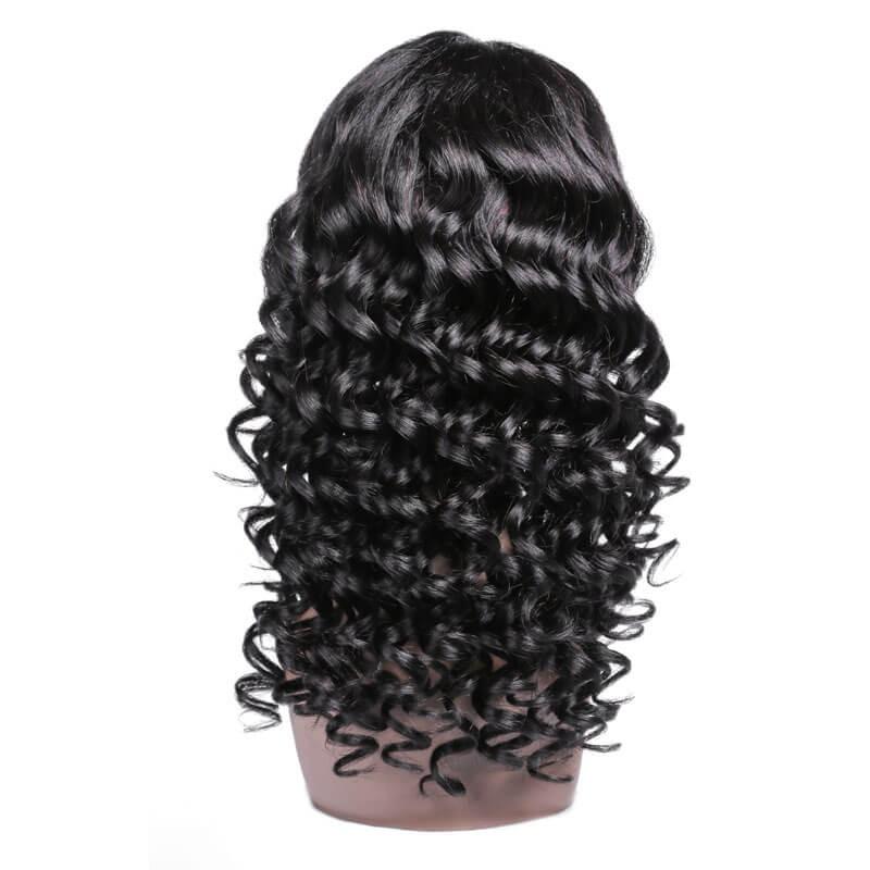 Deep Wave Virgin Human Hair Wig