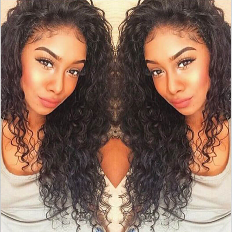 Nadula 100 Unprocessed Virgin Peruvian Curly Hair Weave 3 Bundles