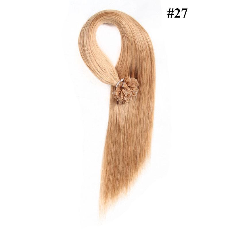 Nadula 18in 20in 22in 24in Pre Bonded Nail U Tip Keratin Fusion Hair