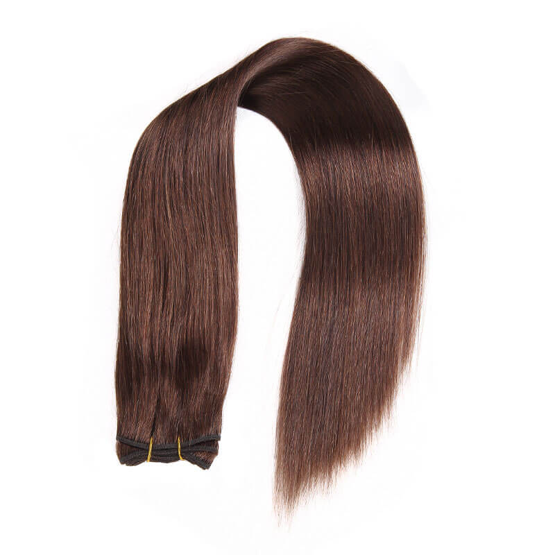 Nadula 4 Bundles Cheap Brazilian Hair Weave 4 Chocolate Brown