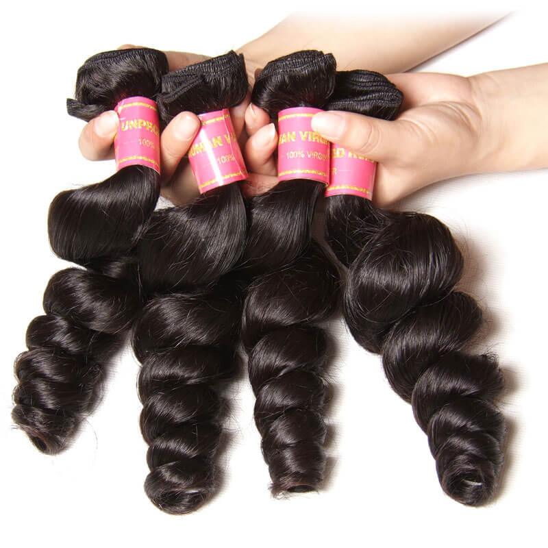 brazilian virgin hair loose wave
