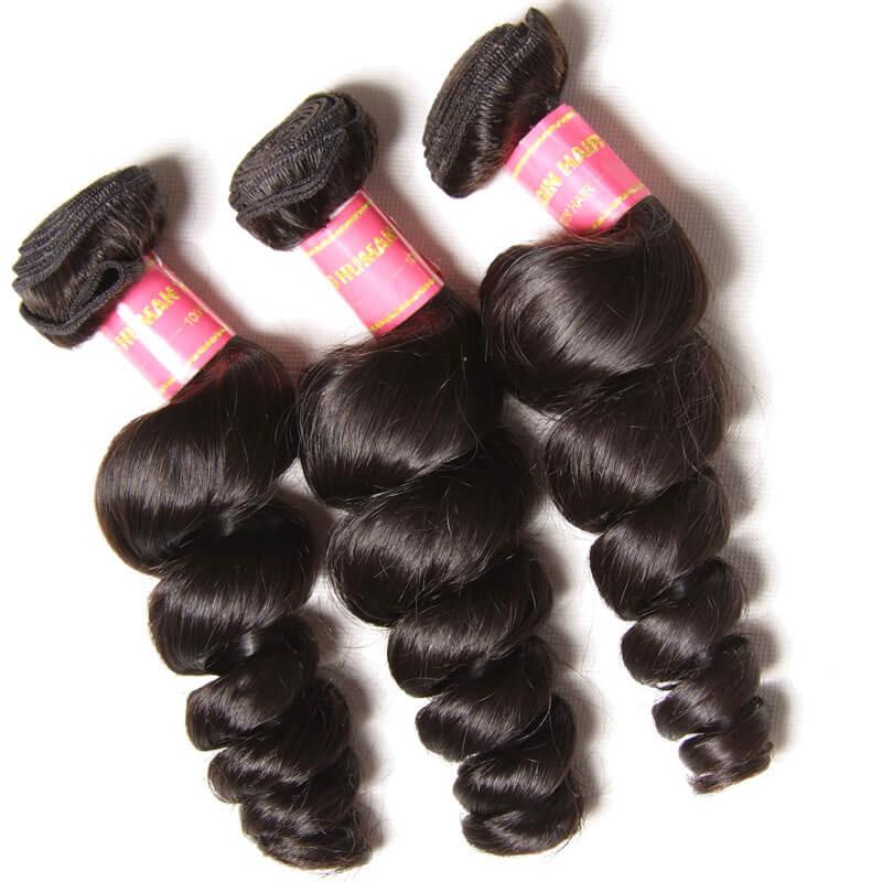 thick brazilian virgin hair loose wave