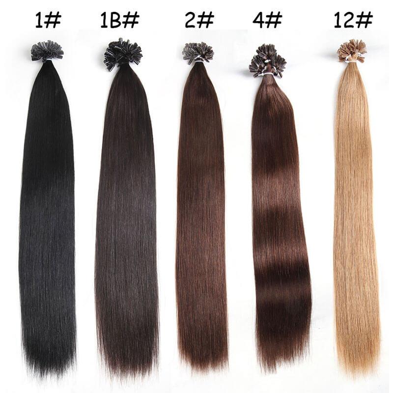 Nadula Cheap Pre Bonded U Tip Keratin Fusion Hair Extensions