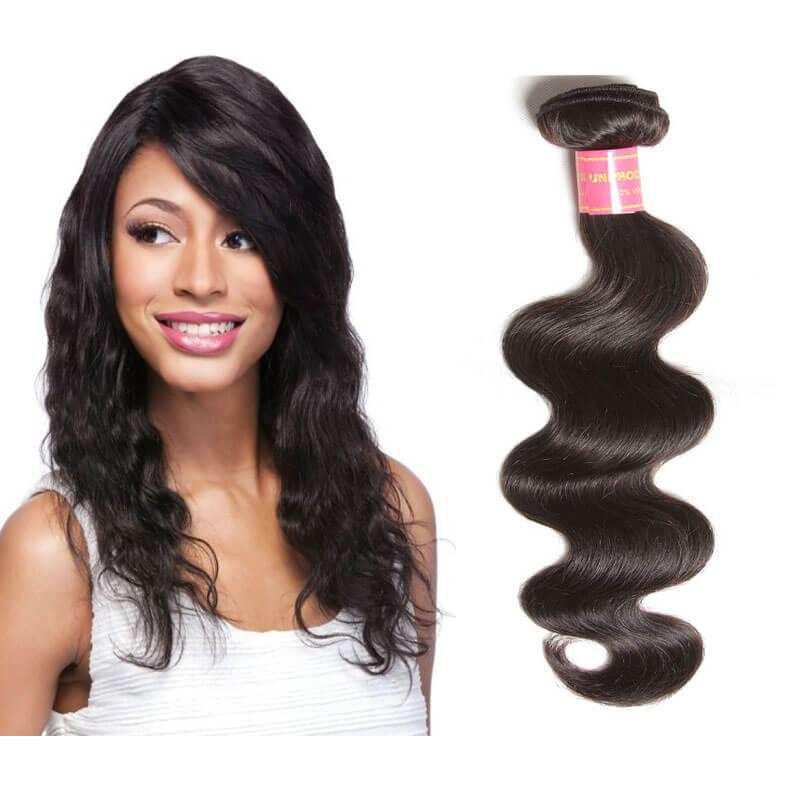 Nadula Best Brazilian Virgin Remy Hair Weave Body Wave 1 Bundle