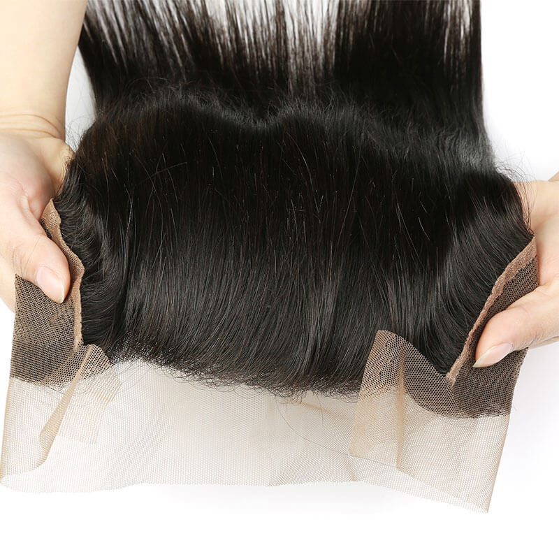 brazilian lace closure straight hair