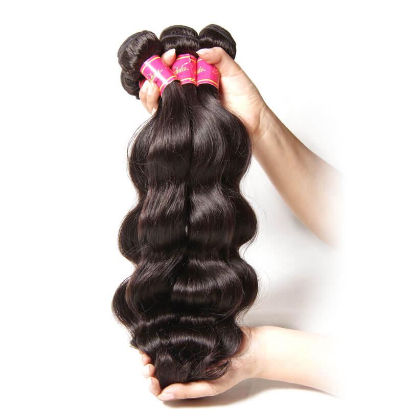 full virgin peruvian body wave hair weave