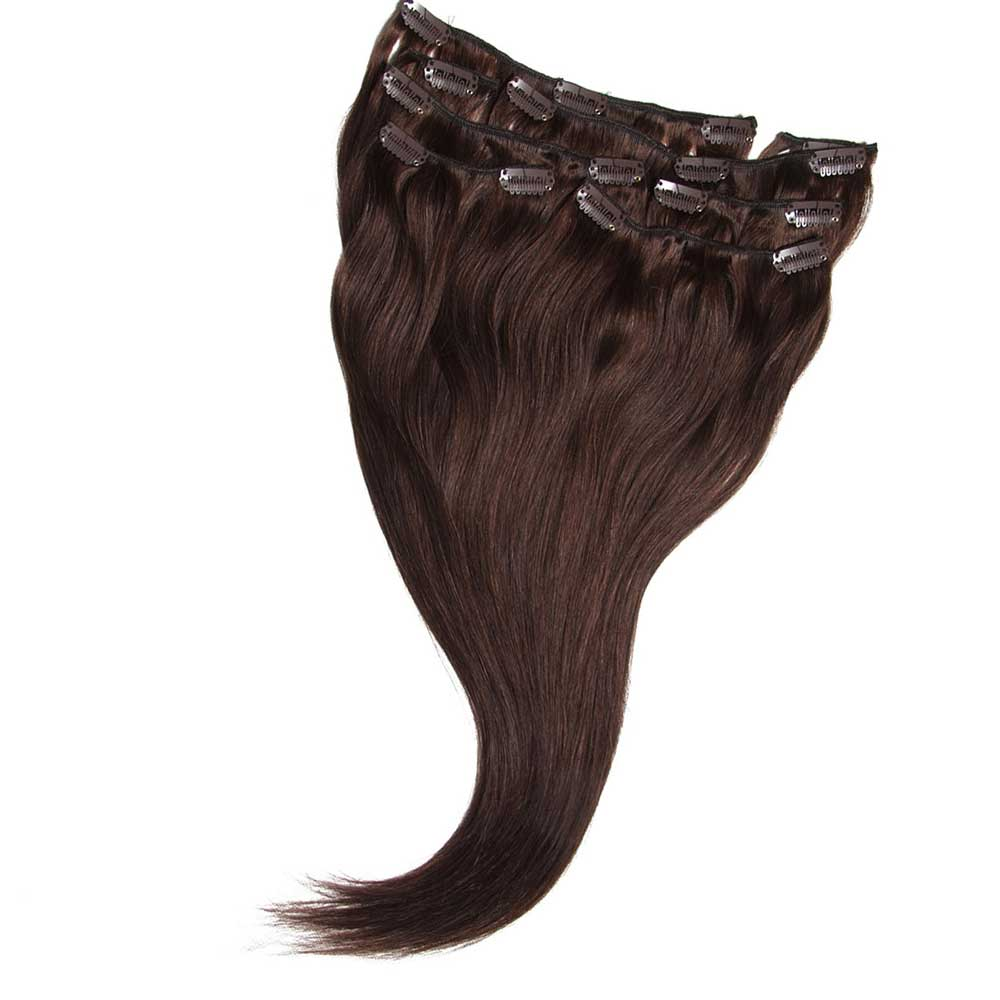 Nadula Cheap Remy Natural Clip In Extensions For Thin Hair Virgin