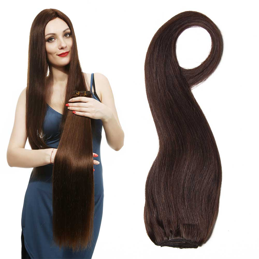 Nadula Straight Clip In Indian Virgin Human Hair Extensions