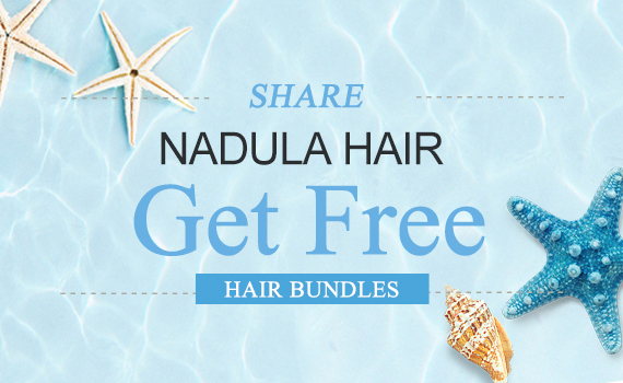 Get cash reward by reviewing Nadula hair