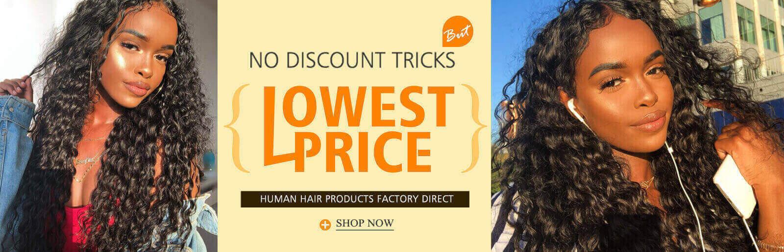 Factory direct high quality human virgin hair