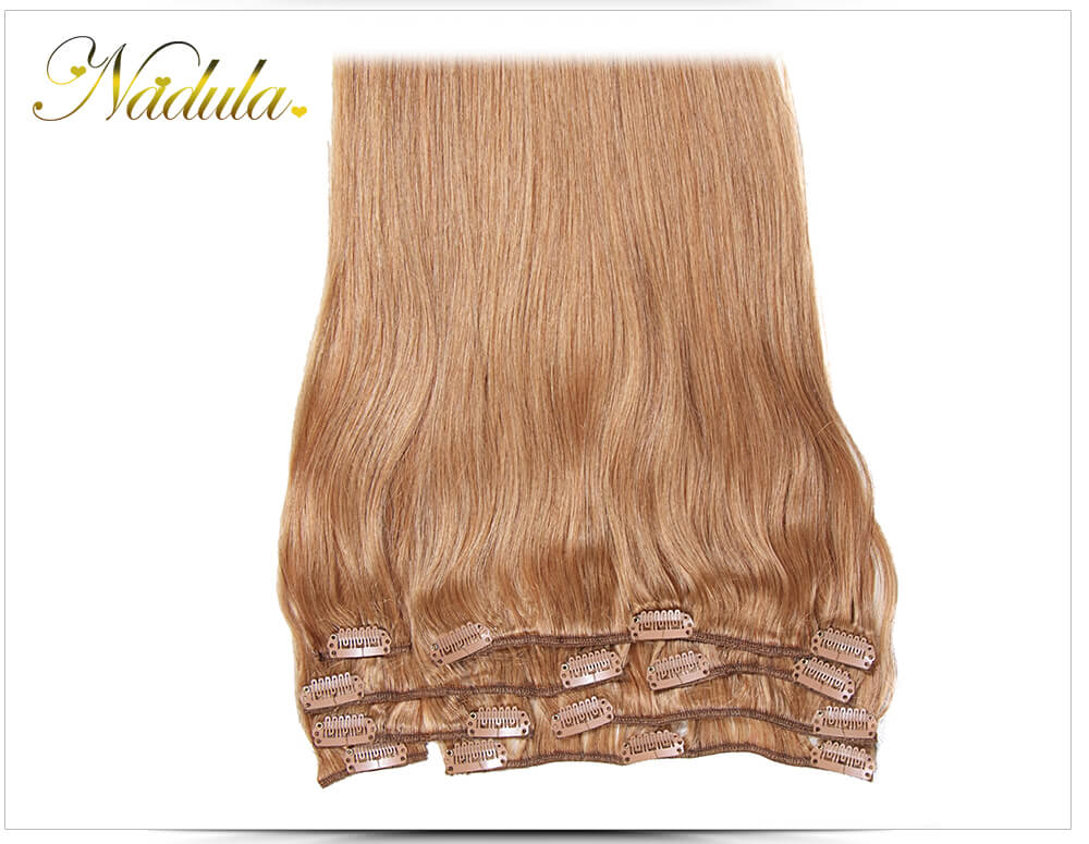 real human hair extensions clip in