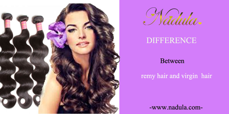 Difference between remy hair and  virgin human hair