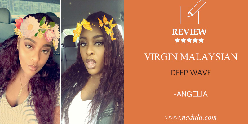 Angelia Malaysian Deep Wave Virgin Hair Review