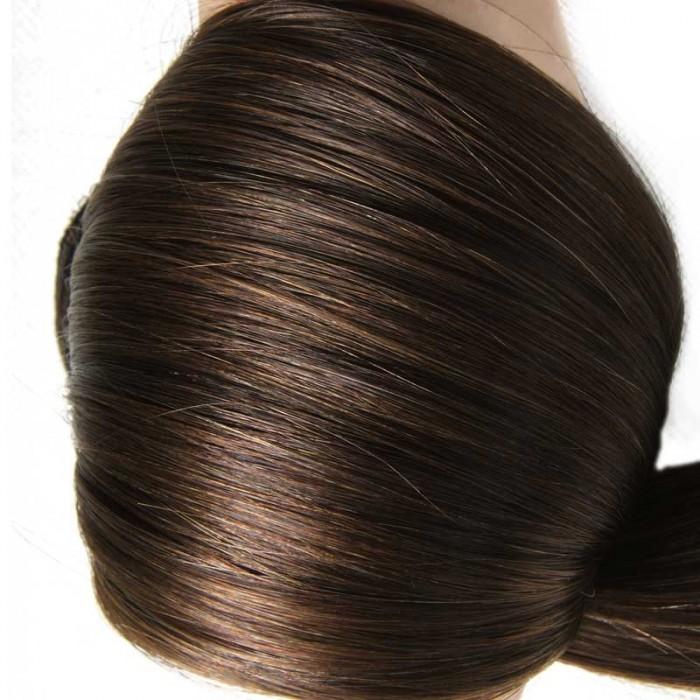 Nadula 100 Human Hair Extensions Clip In Human Hair Extensions 160g #4