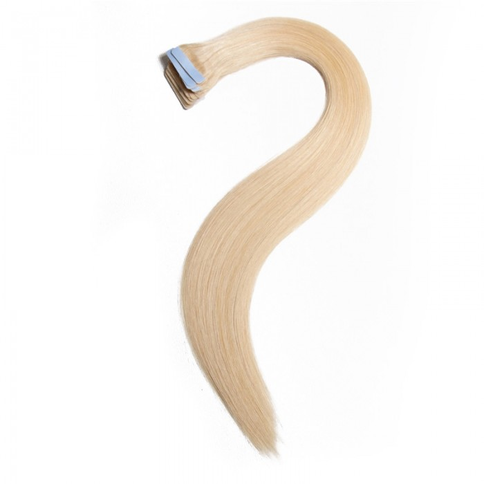 Nadula #613 Blonde Human Hair Tape In Extensions Double Sided Skin Weft