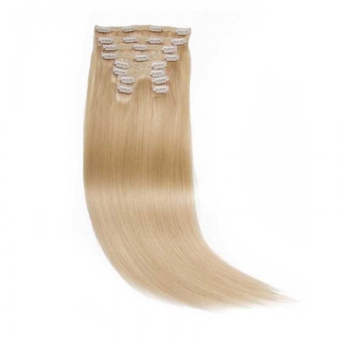 Nadula Quality Clip In Hair Extensions Black Clip In Hair Extensions 160g #613