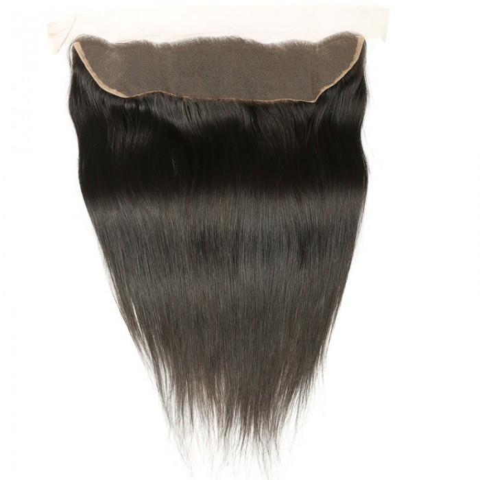 Nadula 13x4 Ear To Ear Lace Frontal Closure Straight Soft Natural Virgin Hair