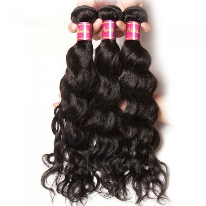 Nadula Quality Peruvian Natural Wave 3 Bundles Of Peruvian Human Hair Weave Deals