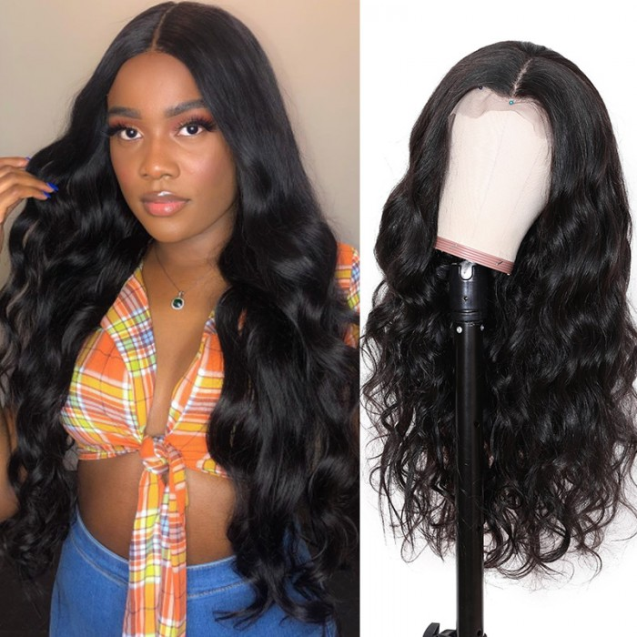 Nadula 13×6 Lace Front Body Wave Remy Wig 150% Density Human Hair Wigs With Baby Hair On Sale