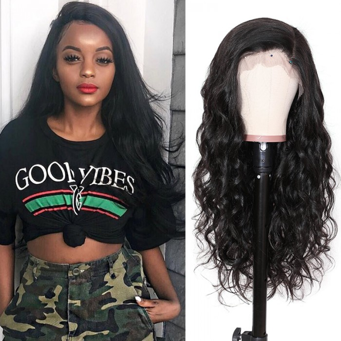 Nadula 13×6 Lace Front Body Wave Wig Remy Human Hair Wigs With Baby Hair 180% Density Wigs