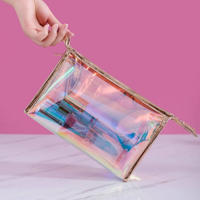 Nadula Free Gift Make Up Bag Brushes Women Cosmetic Bag High Quality Cosmetic Organizer Colorful Bags
