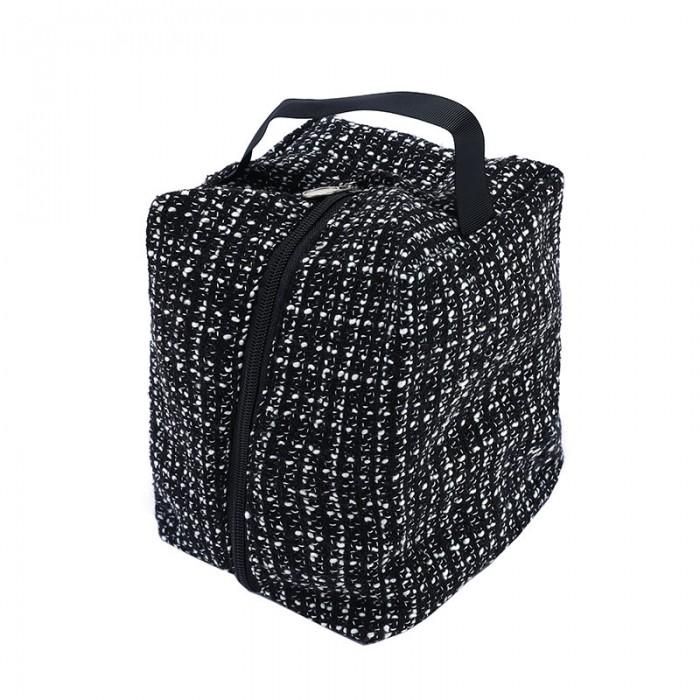 Nadula Free Gift Women Makeup Bags Travel Ladies Wash Bag Fabric Zipper Cosmetic Storage Bag Color Randomly