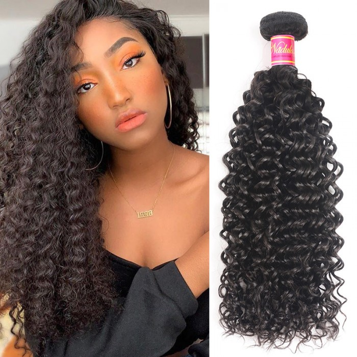 Nadula 22 Inch Curly Virgin Hair Weave 1 Bundle Affordable Brazilian  Full Human Hair Extensions Special For Points Redeem Items