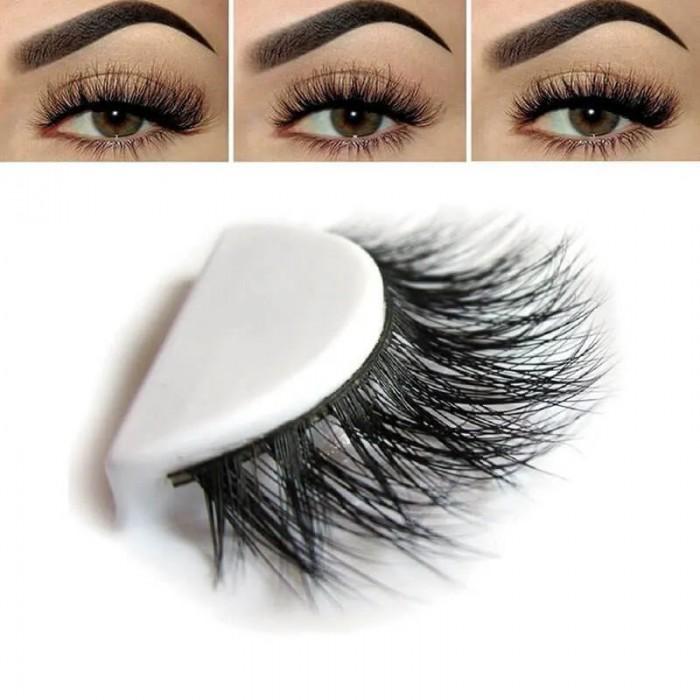 Nadula Fake Eyelashes Voluminous Dramatic Looking Handmade Reusable Eyelashes Lucky Drawn